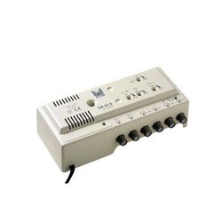 *AMPLIFICATEUR MULTIBANDE 4E-2S / 2U 30dB + BIII 20dB + BI /FM 20DB - CA312