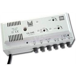 AMPLIFICATEUR MULTIBANDE 3E-2S / 2U 42dB + BIII ET BI 35dB +FM 25DB LTE - CA340