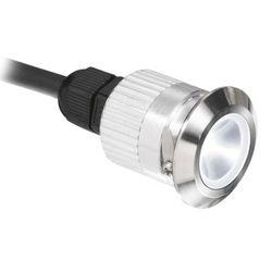 ENCASTRE LED DE BALISAGE 3W 3000K 130LM IP68 ACIER INOXYDABLE 316 - EN-WU673R/30