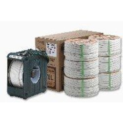 CABLE COAXIAL 17DB BLANC METRE SKRINPACKCLASSE A CAVEL