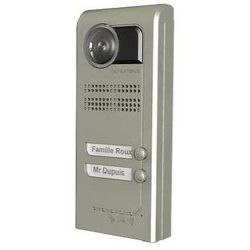INTERPHONE VILLA VISIO 2 BOUTONS, EN SAILLIE, FINITION PLATINUM - INT