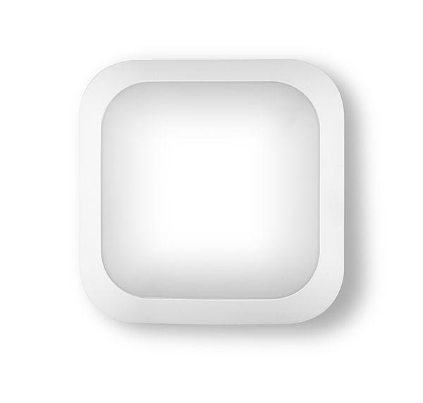 HUBLOT LED CARRE RHEA ECO SQ18W 4000K 1600LM IP66 IK10 CLASSE II - RHELECO3030N