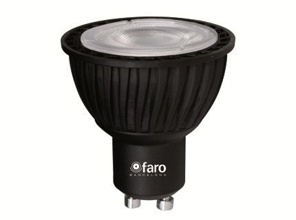 *AMPOULE LED GU10 5W 4000°K 340lm - NOIRE