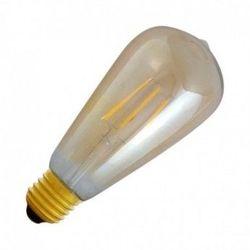 AMPOULE LED E27 8W FIL COB GLOBE ST64 3000øK GOLDEN BOITE - 7159