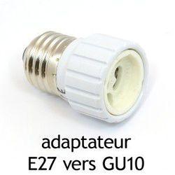 ADAPTATEUR CULOT E27 VERS GU10 -73987