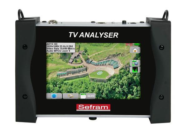 MESUREUR DE CHAMP TACTILE DVB-TS SEFRAM7848