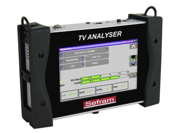 MESUREUR DE CHAMP TACTILE DVB-CTS SEFRAM7859 / CSTM49 - ENTREE/MEUSURE OPTIQUE