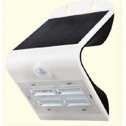 PROJECTEUR LED 3,2W 4000K/6000K 400LM -MURAL IP65 SOLAIRE DETECT BLANC/GRIS/NOIR
