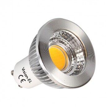 AMPOULE LED GU10 6W COB 3000K 530LM 75° DIMMABLE - ALU - MII78607