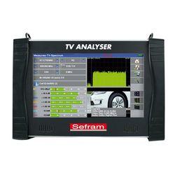MESUREUR DE CHAMP TV NUMERIQUE terrestre, cable,satellite,écran 10' couleur tac