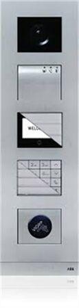PLATINE VIDEO MONOBLOC DEFILEMENT DE NOM +PERCAGE VIGIK WM7235 - ABB