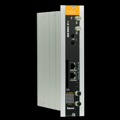 MODULE TOX DVBT/T2- IP CI MUX 4 CX - 32 IP STREAMER - TELEVES - 565701
