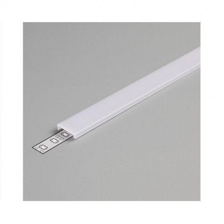 DIFFUSEUR CLIP BLANC 17,6MM POUR PROFILE LED 2M -MII9896