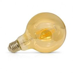 AMPOULE LED E27 4W GOLDEN FILAMENT SPIRALE G95 2700K 160LM - MII71530