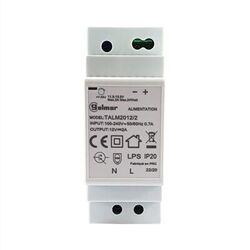 ALIMENTATION MODULAIRE 12 VCC 2A - BOITIER RAIL DIN 2 MODULES IP20 - TALM2012/2