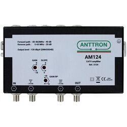 AMPLIFICATEUR DISTRIBUTION C3 40DB / VR 5-65MHZ REG.PENTE 10 DB ANTTRON - AM124