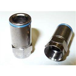 CONNECTEUR A COMPRESSION F SANS OUTIL 6.8mm (boite de 50 pcs) - CAVEL - FCPO5.1C