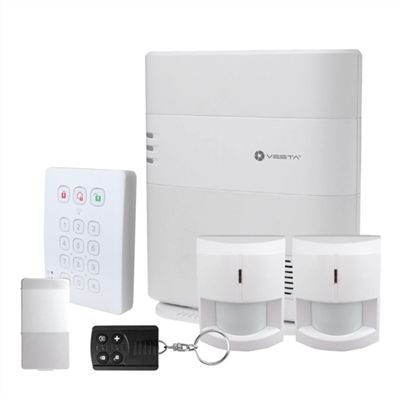 KIT ALARME VESTA-100 1 CENTRALE IP+4G / 2 PIR / 1 CONTACT MAGNETIQUE / 1 TCDE