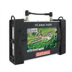 MESUREUR DE CHAMP TACTILE DVB-C / T2 / S2 SEFRAM7859B - ENTREE/MEUSURE OPTIQUE